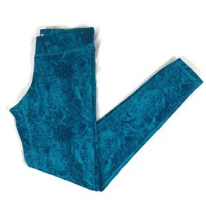 Champion Blue/Teal Duo Dry Workout Pants Small